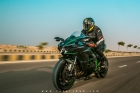 Mazher Shah Follow shoot on Kawasaki H2 in Karachi Pakistan 1