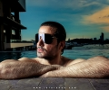 Mazher portfolio shoot against sun in daylight using strobes in the swimming pool 2