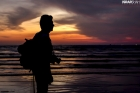 yousaf-fayyaz-silhouette-at-seaview-after-sunset