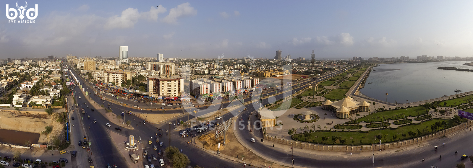 Karachi-From-Top-of-Continental-Biscuit-