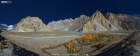 Panorama of Pasu in the upper Hunza Valley
