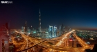 Panoramic view of Dubai