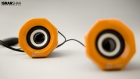 Product Photography - Yellow Speakers 2