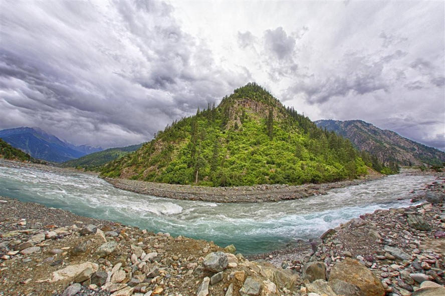 Swat River HDR